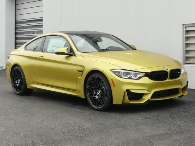 BMW M4 Coupe >> New 2020 Bmw M4 Coupe Rear Wheel Drive Coupe