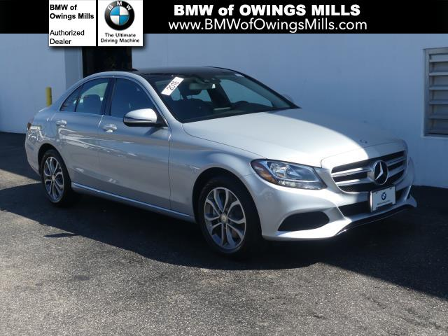 Mercedes Owings Mills >> Pre Owned 2016 Mercedes Benz C Class 4dr Sdn C 300 4matic Awd 4matic 4dr Car