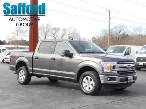 Pre-Owned 2019 Ford F-150 XLT 4WD SuperCrew 5.5' Box Four Wheel Drive Crew Cab Pickup