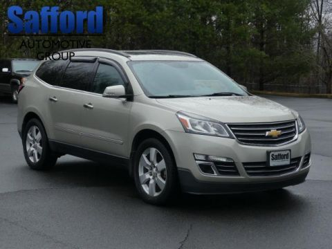 Pre-Owned 2013 Chevrolet Traverse AWD 4dr LTZ All Wheel Drive AWD 4dr LTZ