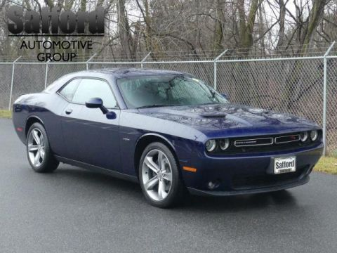 Pre-Owned 2015 Dodge Challenger 2dr Cpe R/T Rear Wheel Drive 2dr Car