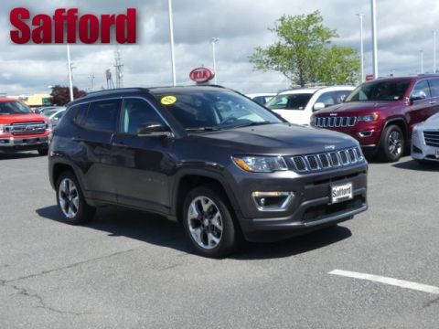 Pre-Owned 2019 Jeep Compass Limited 4x4 Four Wheel Drive Sport Utility
