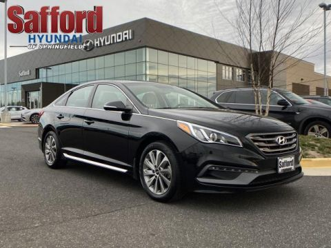 Pre-Owned 2017 Hyundai Sonata Sport 2.4L Front Wheel Drive 4dr Car