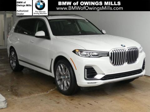 Pre-Owned 2020 BMW X7 xDrive40i Sports Activity Vehicle AWD Sport Utility
