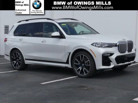 Pre-Owned 2019 BMW X7 xDrive50i Sports Activity Vehicle AWD Sport Utility