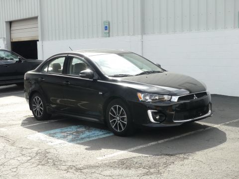Pre-Owned 2017 Mitsubishi Lancer ES 2.0 FWD CVT Front Wheel Drive 4dr Car