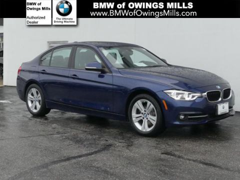 Certified Pre-Owned 2016 BMW 3 Series 4dr Sdn 328i xDrive AWD SULEV AWD 4dr Car