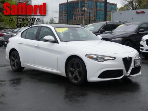 Pre-Owned 2018 Alfa Romeo Giulia AWD All Wheel Drive 4dr Car